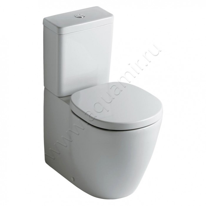 Унитаз-компакт напольный Ideal Standard Connect Cube (E803701), купить в Москве в интернет-магазине aquamir.ru