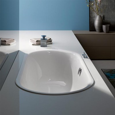 Стальная ванна Bette Lux Oval 180x80 округлая (3466-000, 3466000)
